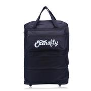 กระเป๋าเดินทางแบบพับเก็บได้ มีล้อลาก ถือได้ สะพายได้