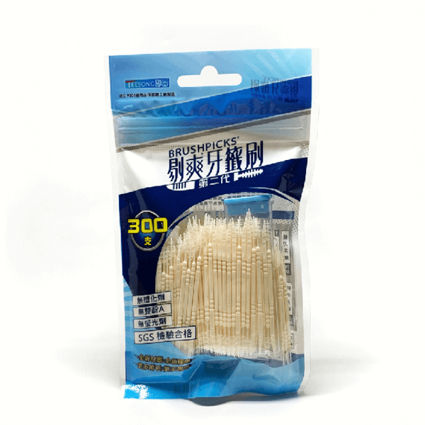 (BRUSHPICKS)Taste toothpick brush second generation 300 family supplement package