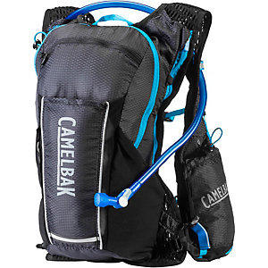 (CAMELBAK)CAMELBAK Ultra 10 Extreme Cross Country Water Tank Vest (with 2L water bag) Black / Deep Sky Blue