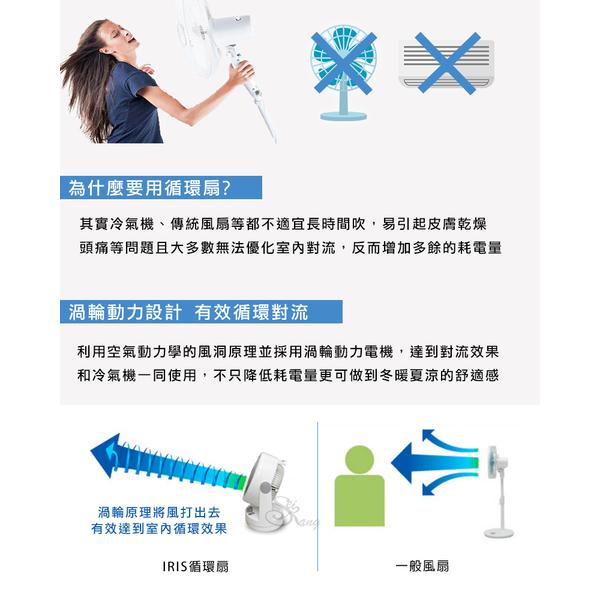 Japan IRIS air circulation fan HM23