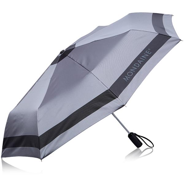 (MONDAINE)MONDAINE Swiss national iron and rain dual-use automatic umbrella - light gray