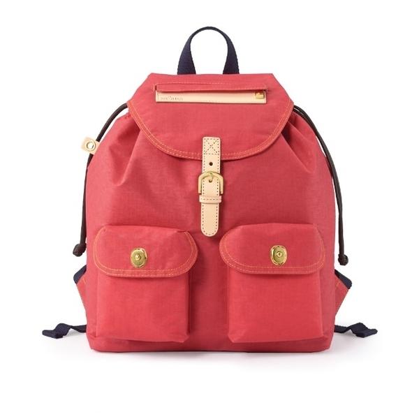 Satana - กระเป๋าสะพายหลังรุ่น Soldier ไซส์เล็ก - สี Rococo Red
