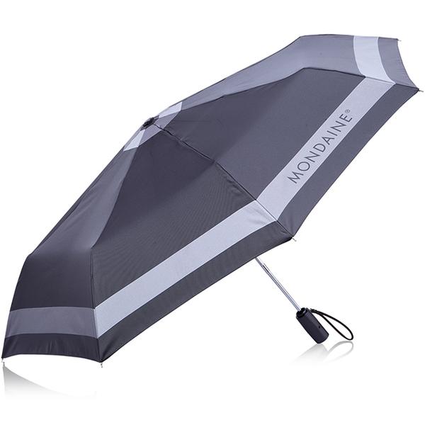 (MONDAINE)MONDAINE Swiss national iron and rain dual-use automatic umbrella - dark gray