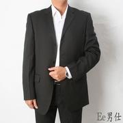 [Ee Men] แจ็คเก็ตทรงสูทสำหรับผู้ชาย - สีดำ