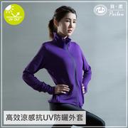 PEILOU นิ่มได้อย่างมีประสิทธิภาพเย็น _ เหนี่ยวนำเสื้อ UV กรองแสงสีม่วง