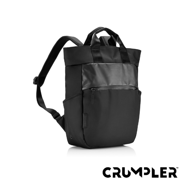 (Crumpler)Crumpler Small Savage ART COLLECTIVE Collector's Notebook Backpack (M) Black