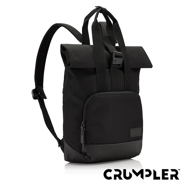(Crumpler)Crumpler Small Savage ALGORITHM Coiled Pencil Backpack (M) Black