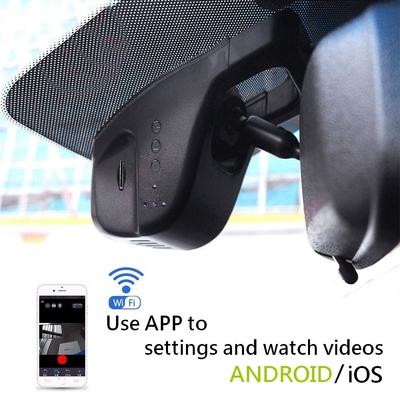 กล้องติดรถยนต์ D7 Dual Camera WIFI FHD 1080P Drive Video Recorder 32G