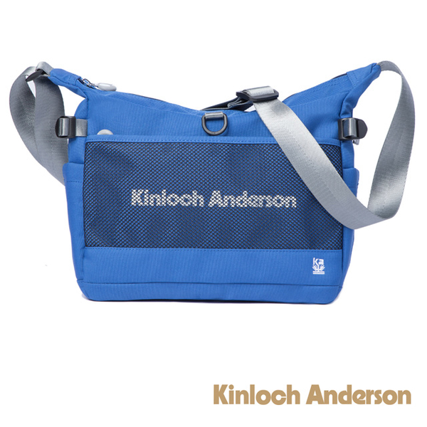 (Kinloch Anderson)[Gold Anderson] Unbox Large Capacity Slant Side Pack - Blue (KA184002BLF)
