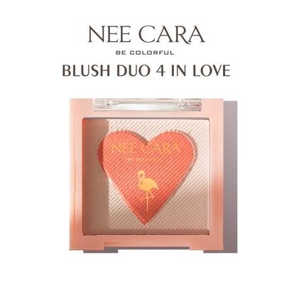 N214 ของแท้ Nee Cara Blush Duo 4 In Love