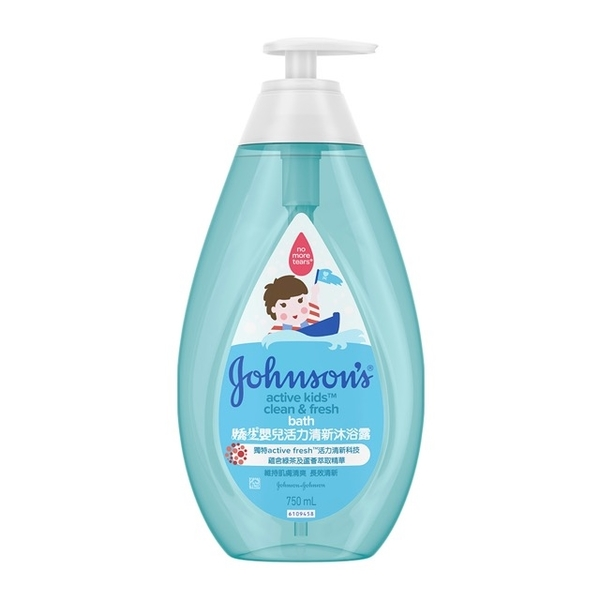 (Johnson\'s Baby)[New formula] Jiaosheng baby vitality refreshing shower gel 750ml