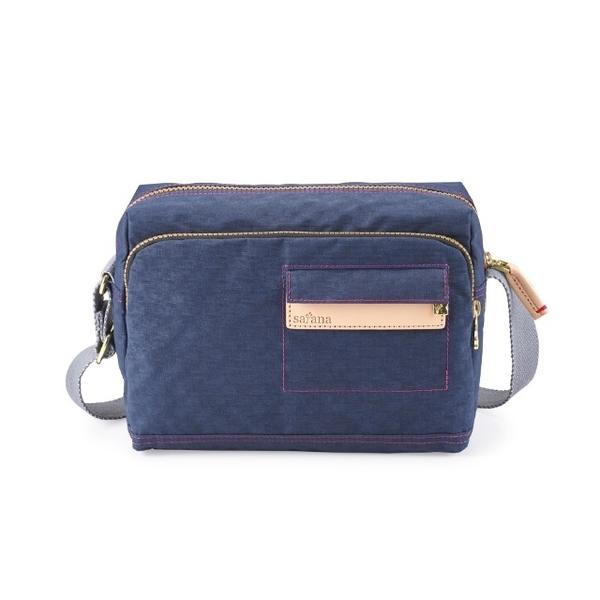 (SATANA)Satana - Soldier Simple Crossbody Bag - Mineral Blue