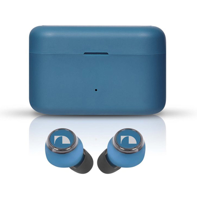 (Nakamichi)Nakamichi true wireless waterproof sports Bluetooth headset my music HUE PLUS-blue