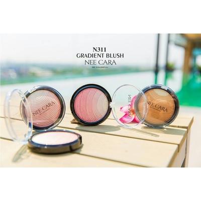 N311 บลัชออนซิมเมอร์ Nee Cara Gradient Blush
