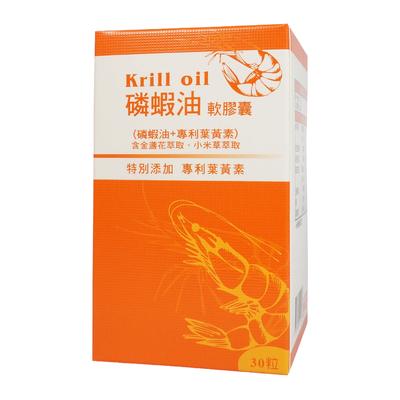 น้ำมัน Krill แบบแคปซูล