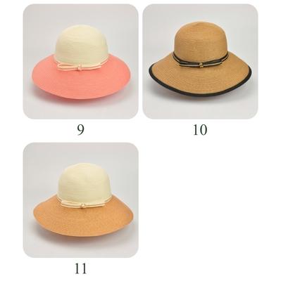 [ธรรมชาติคลับ] ที่ทันสมัยเรียบง่ายผู้หญิง J40 หมวกในไต้หวันซักวัสดุสิ่งแวดล้อมกระดาษถักหมวกหมวกชายหาด
