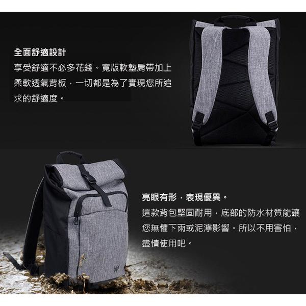 (ACER Predator)Predator Rolltop JR. Backpack (gray)