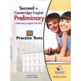 劍橋主流英檢 - Global PET Practice Tests - Student's Book 10回合 (w/Ans+MP3+Self-Study Guide)(หนังสือภาษาต่างประเทศ)
