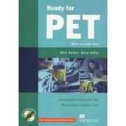 Ready for PET 含模擬試題8回合-Coursebook (w/Ans+2CDs+CD-ROM)(หนังสือภาษาต่างประเทศ)