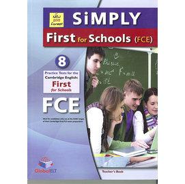 SIMPLY FCE for Schools Practice Test(全色彩8回合) -Teacher's book(หนังสือภาษาต่างประเทศ)