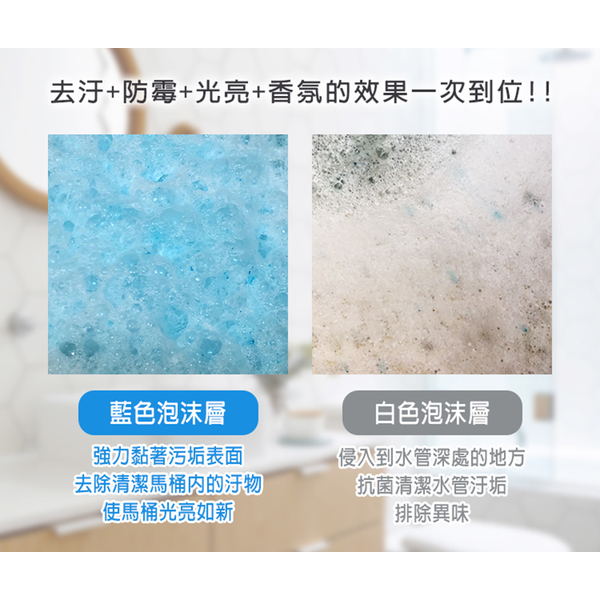 Yili Bright White โฟมระเบิดทำความสะอาด - กลิ่น BLUE DE Azure (1,000 กรัม / ถัง)