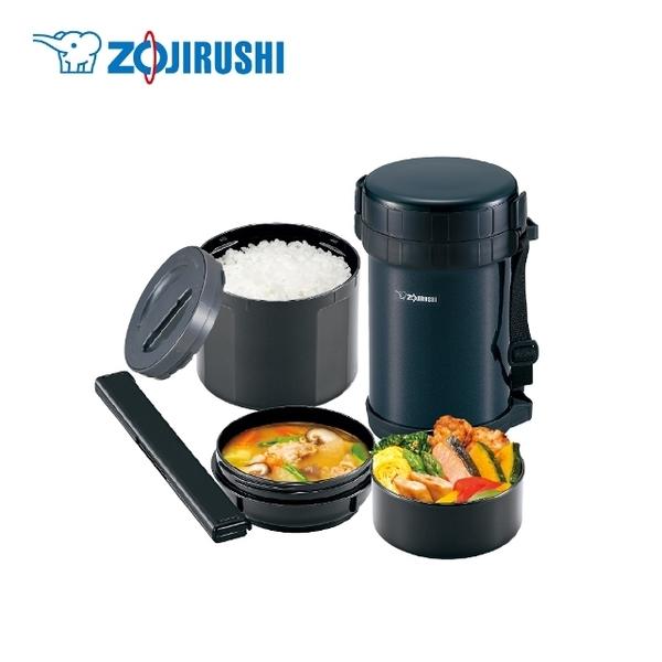 (Zojirushi) ZOJIRUSHIstainless สูญญากาศเหล็กกล่องอาหารกลางวันฉนวนกันความร้อน (SL-XE20) (มีฉลากภาษาจีน)