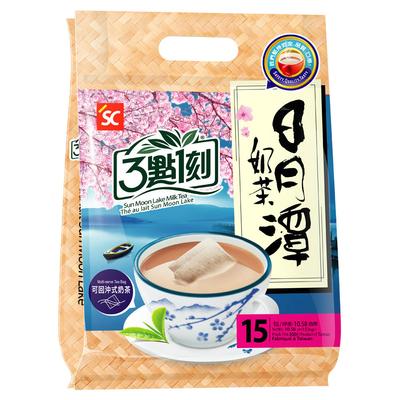 [3:15pm] ชานมไต้หวัน สูตรทะเลสาบสุริยันจันทรา (15 ซอง/แพ็ค)【แพ็คเกจรวม 5 ถุง】