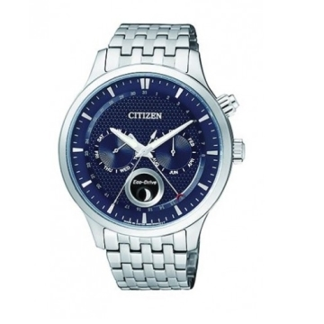 (CITIZEN)CITIZEN Eco-Drive watch classic simple fashion / blue / AP1050-56L