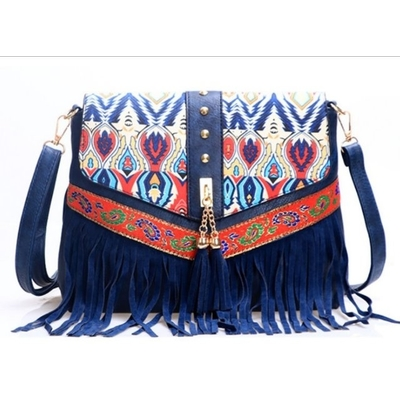 GIFT-ธิเบต - กระเป๋าสะพายพู่ชาติพันธุ์