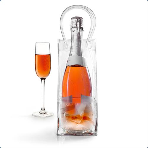 (IBILI)IBILI transparent wine bottle bag