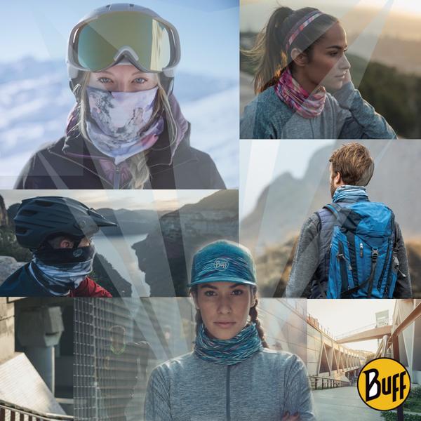 BUFF BF120731 classic headscarf Plus- speed of light Glimpse