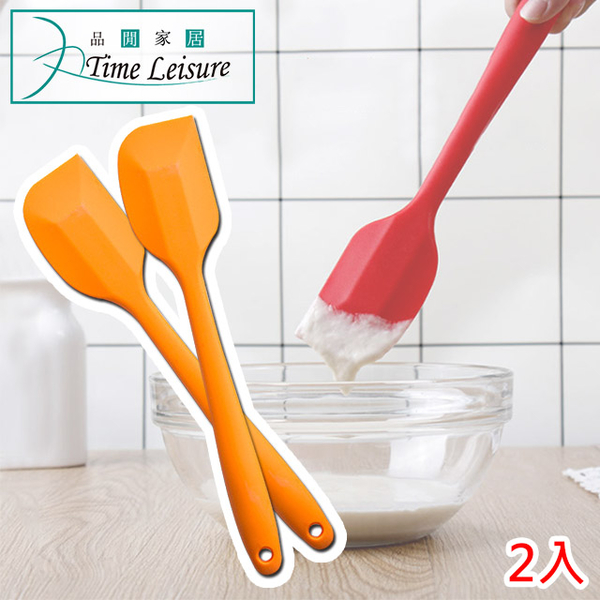 (Time Leisure)Time Leisure Kitchen Baking Cream Stirring High Temperature Silicone One Scraper 2 In / Random Color