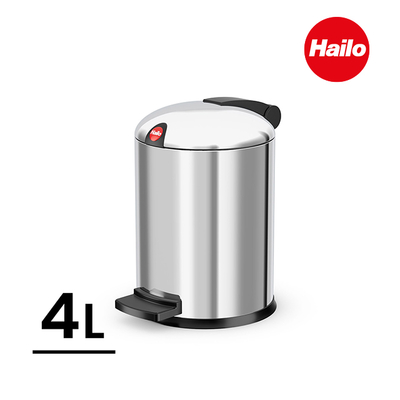 (Hailo)[Hailo] Germany Design S stainless steel trash can