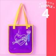 💗 กระเป๋าสะพายไหล่ BENTOY Transparent NEON (สีม่วง)