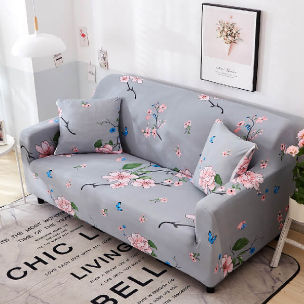 Butterfly clothing elastic sofa cover single seat