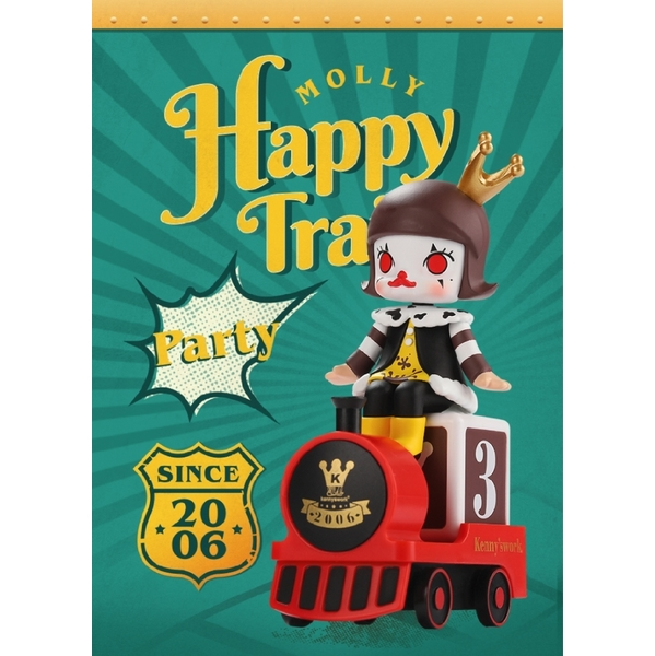 (Molly)Molly Jasmine Girl Happy Little Train Big Party Series Doll Box Play (Boxed 12 In)