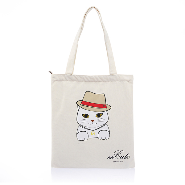 (eecute)eeCute meets cat EE canvas bag (can be carried. shoulder) (smart rice)