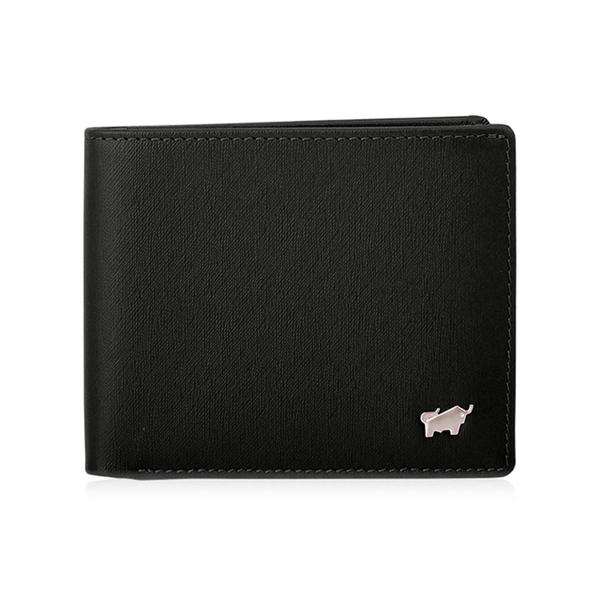 (braun buffel)BRAUN BUFFEL HOMME-M Series 6 Card Holder - Black BF306-312-BK