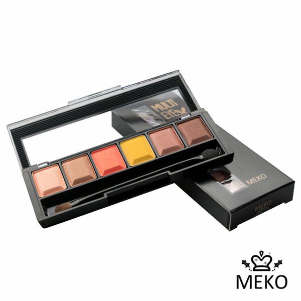 (MEKO)[MEKO]POPFESTIVE- magic party | changeable wild eyeshadow tray (3 colors) 15g #橘子?巴雍