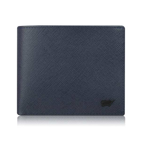 (braun buffel)BRAUN BUFFEL Lofino P-II Series 10 Card Wallet - Midnight Blue BF347-314-NY