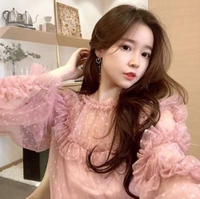 เสื้อหวานๆงานนำเข้า สีชมพู