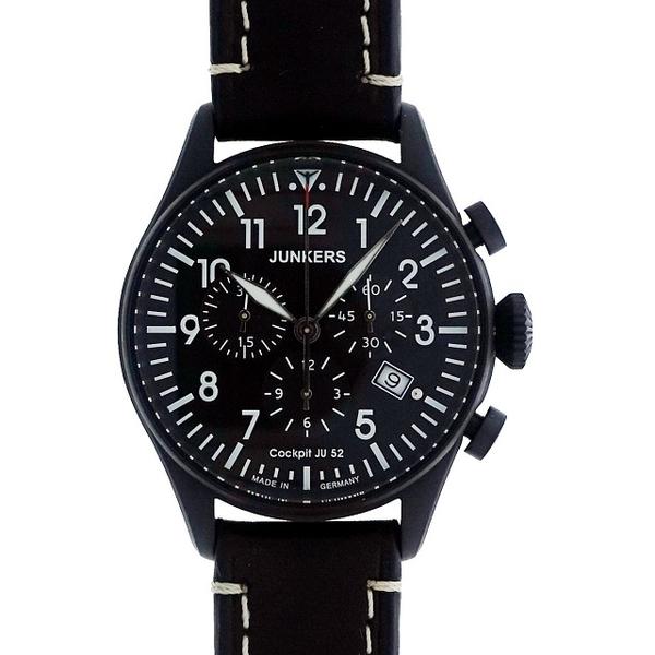 (Junkers)Germany [Junkers Junkers] transport aircraft JU52 luminous digital chronograph Germanic style watch