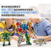 【人類文化】變形劍龍-DIY益智積木 (หนังสือความรู้ทั่วไป ฉบับภาษาจีน)
