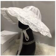 PRE-Order Flat2112 หมวกสาน หมวกลูกไม้สไตส์เกาหลี