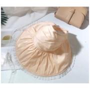 หมวกสาน หมวกลูกไม้ หมวกผ้ากันแดดแต่งระบายลูกไม้