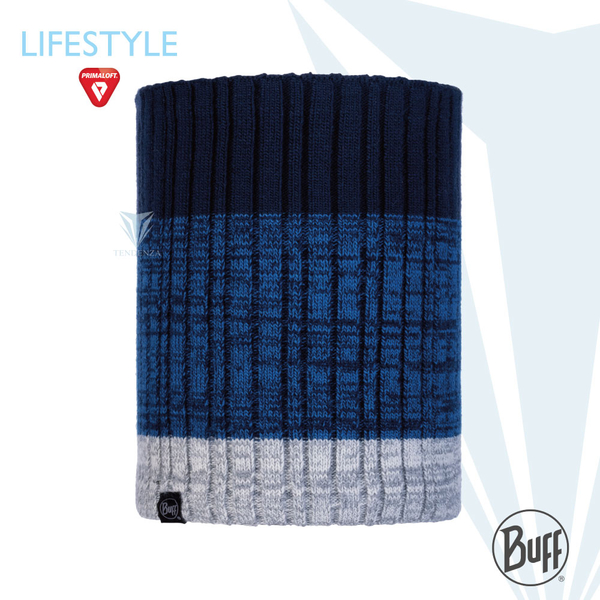 BUFF Lifestyle BFL120851 midnight blue knitted thermal scarf IGOR