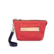 กระเป๋าเงินสามใบสำหรับทหาร satana-Soldier-Rococo Red