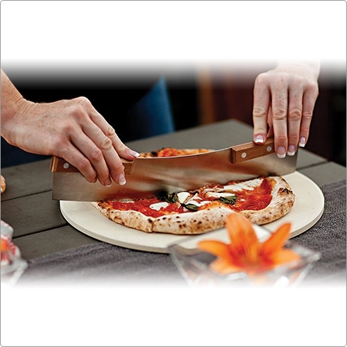 FOXRUN Outset Pizza knife with wooden handle
