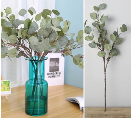 ต้นไม้ประดับต้นยูคาลิปตัส 1 ชิ้นประดิษฐ์ DIY
