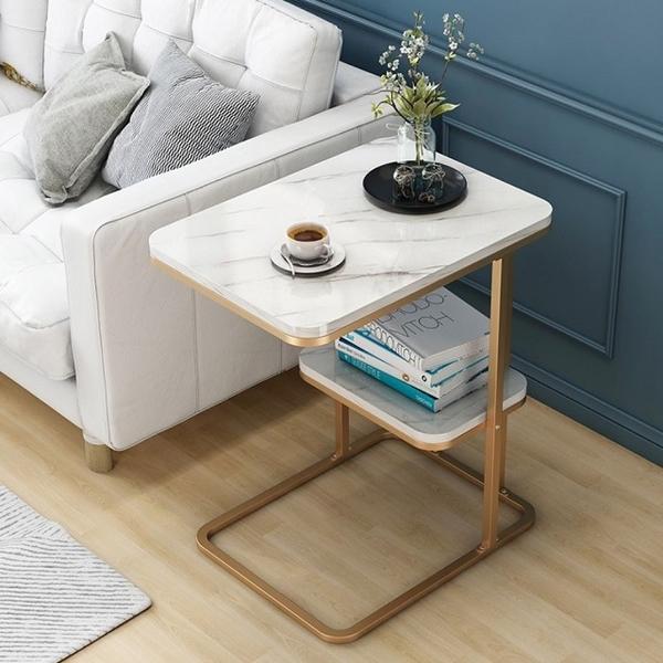 โต๊ะหินอ่อนนอร์ดิกแบบเรียบง่ายพนมเปญโต๊ะข้างโซฟา